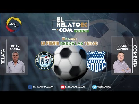 EN VIVO | FORMATO RADIO: Guayaquil City vs. Emelec