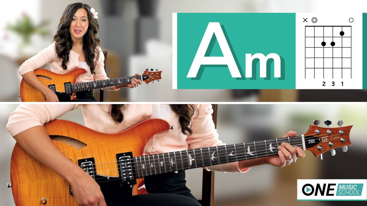 how to play an am chord on guitar youtube. Black Bedroom Furniture Sets. Home Design Ideas