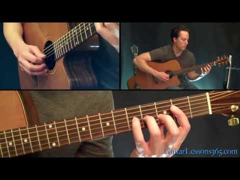 Diary Of A Madman Acoustic Guitar Lesson - Ozzy Osbourne - Famous Riffs