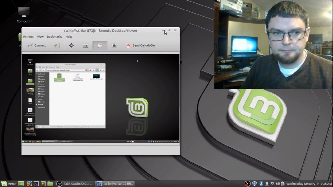 Remote Desktop Viewer Linux Mint - Desktop Sharing