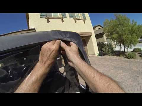 Jeep JK Soft Top Window Installation