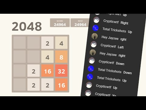 2048 - Win To End The Stream
