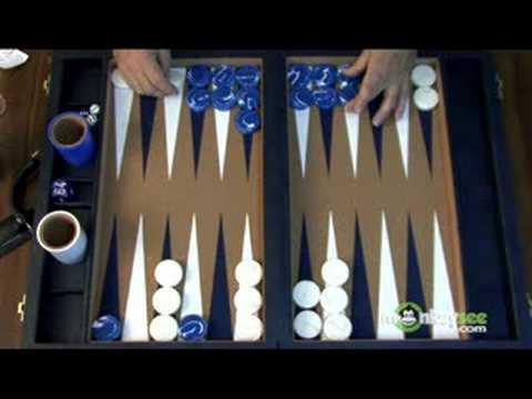 Backgammon Priming Game Part 1 - End Game