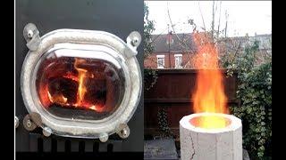 Air Control for the Batchbox Burner
