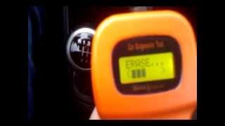 Comment effacer les codes d'erreur de voiture avec OBD2 U281