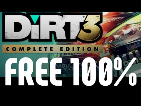GET DIRT 3 COMPLETE ON STEAM FOR FREE & LEGAL! ( ACTUAL PRICE 29.99 EURO)