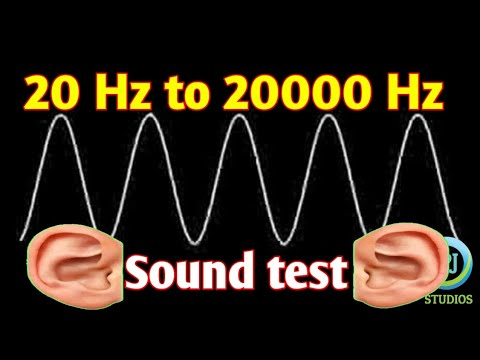 Sound from 20 HZ to 20000 HZ frequency . Ultrasonic and audible sound.Aryabhata