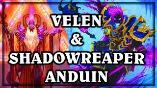[Hearthstone] Velen and Shadowreaper Anduin Show Up ~ Knights of the Frozen Throne Expansion