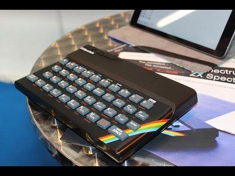 The ZX Spectrum Returns! Hands On With Recreated Bluetooth ZX Spectrum