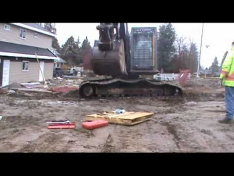 Excavator Sprocket Replacement