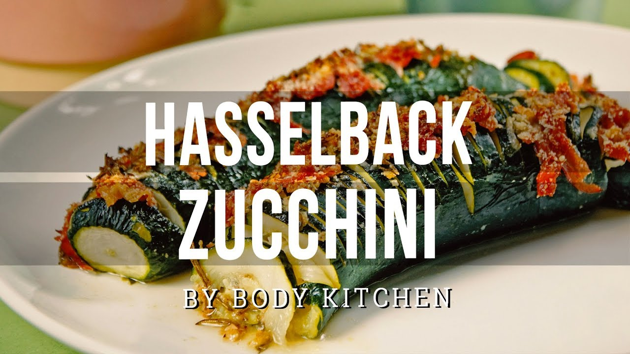 Sommergerichte Zucchini : Low carb sommergericht hasselback zucchini youtube