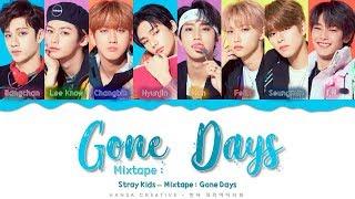 Download Stray Kids - 'Mixtape : Gone Days' Lyrics Color Coded (Han/Rom/Eng)