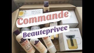 Unboxing : commande Beauteprivee