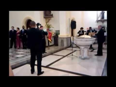 Pré entrada da noiva com tema de Harry Potter