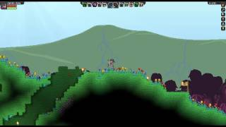 Starbound Let's Play- S2 Ep06- Diamond Upgrades and Boss Battle?