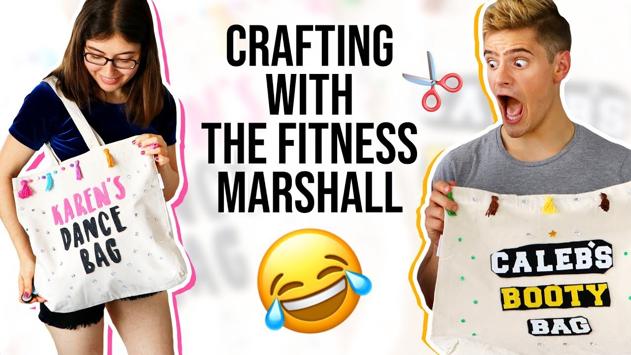 Diy Dance Bags With The Fitness Marshall Karenkavett