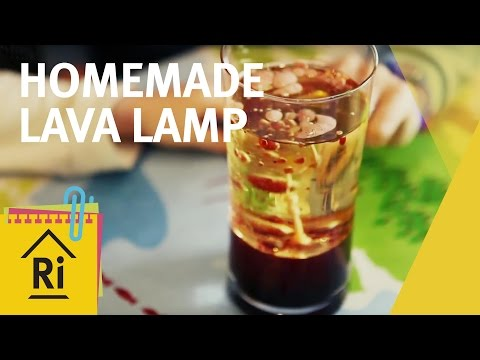 Homemade lava lamp - Science with children - ExpeRimental #2
