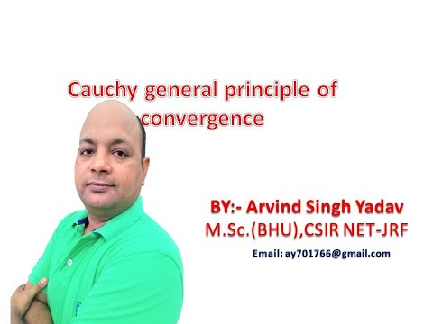 Cauchy general principle of convergence sequences ,real analysis