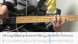 Ramblin' Man - The Allman Brothers Band Bass Cover & Backing Track (Bass Tab 연주)