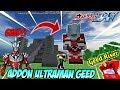 ULTRAMAN GEED TERBARU ADA DI MINECRAFT   Addon Minecraft Ultraman Geed   ウルトラマンジード