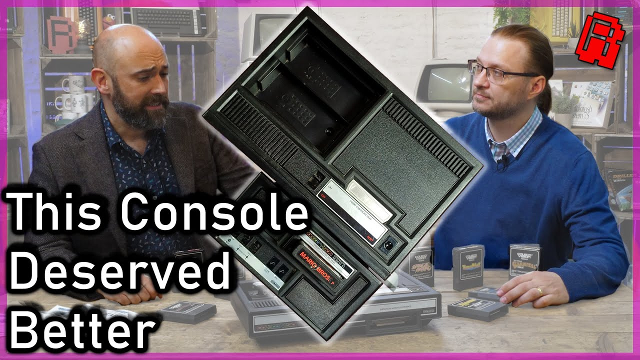 Restoring and exploring a ColecoVision (1982) Games Console