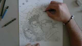 How to draw Kakashi Gaiden