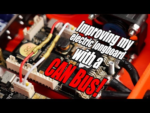 Improving my electric longboard with a CAN Bus! What can the CAN Bus do? EB#44