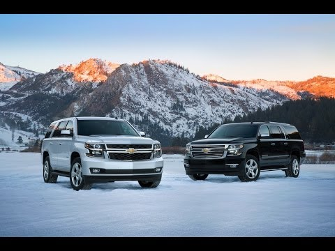 2015 Chevy Tahoe & Suburban: Everything You Ever Wanted to Know