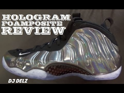 cb43b9ac35f50 Nike Foamposite One Hologram Sneaker Review + Comparison With Quai54 ...