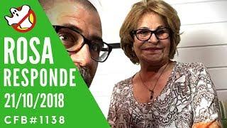 Rosa Responde Caça Fantasmas Brasil CFB#1138