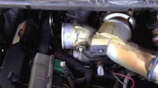 Ford 7.3 powerstroke fuel leak. (fuel line)