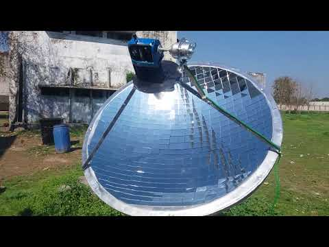 Concentrated Solar Power System with Engine