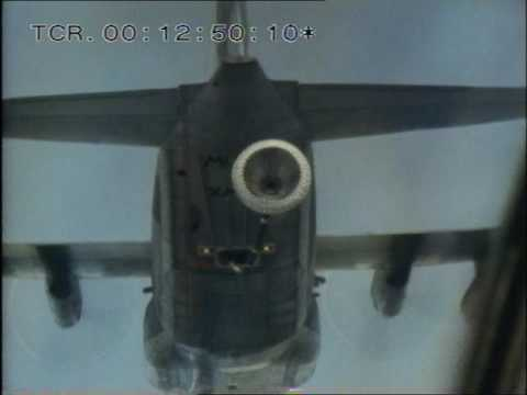 Falkland Islands - Air-to-air refueling - RAF - Thames Televison