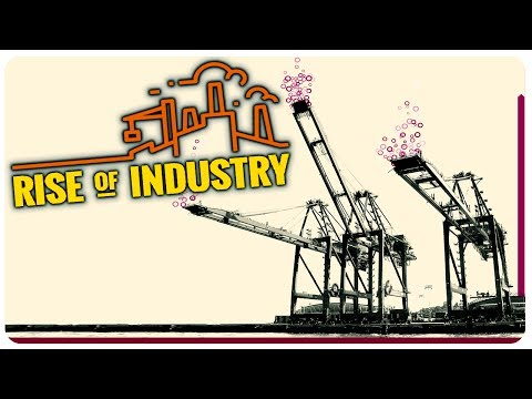 Factorio meets Transport Tycoon!   Rise Of Industry Gameplay (Project Automata)