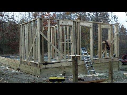 How To Build Small 22x22 Vacation House