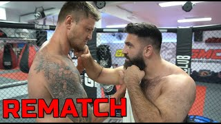 SinanG am Boden - REMATCH gegen Michael Smolik ++ MMA Workout TEIL 2