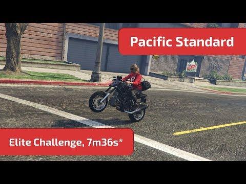 GTA Online - Pacific Standard (Elite Challenge, 7m36s*) World Record