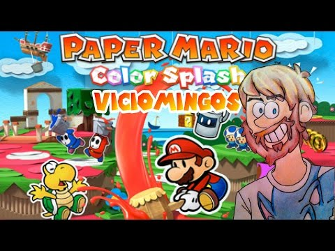 Paper Mario Color Splash - Viciomingos