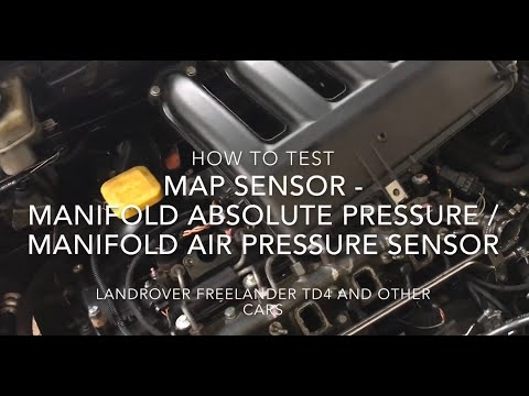How To Test A MAP Sensor - Manifold Absolute Pressure / Manifold Air Pressure Sensor