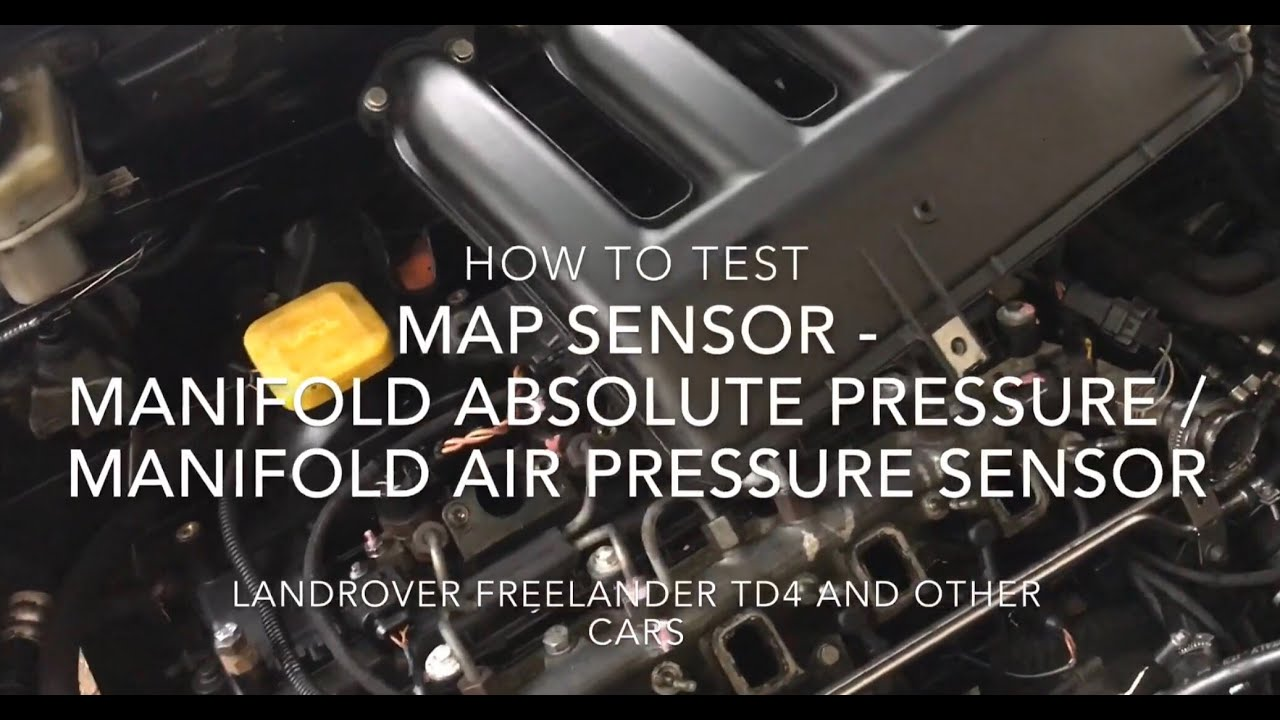 How to Test a MAP sensor - Manifold Absolute pressure / Manifold Air Map Air Sensor on idle air sensor, map of passat engine, mat air sensor,