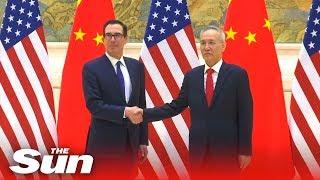 New round of U.S.-China trade start Tuesday