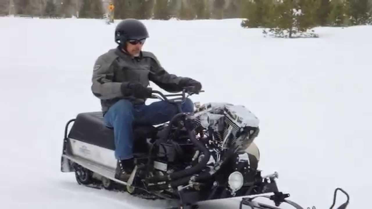 Harley Davidson Snowmobile Engine