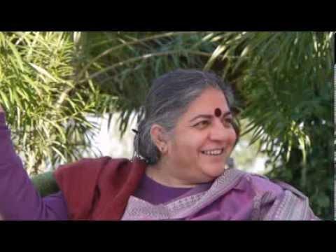World Renowned Environmental Activist Dr. Vandana Shiva on Spiritual Ecology & Dharma at Navdanya  ~