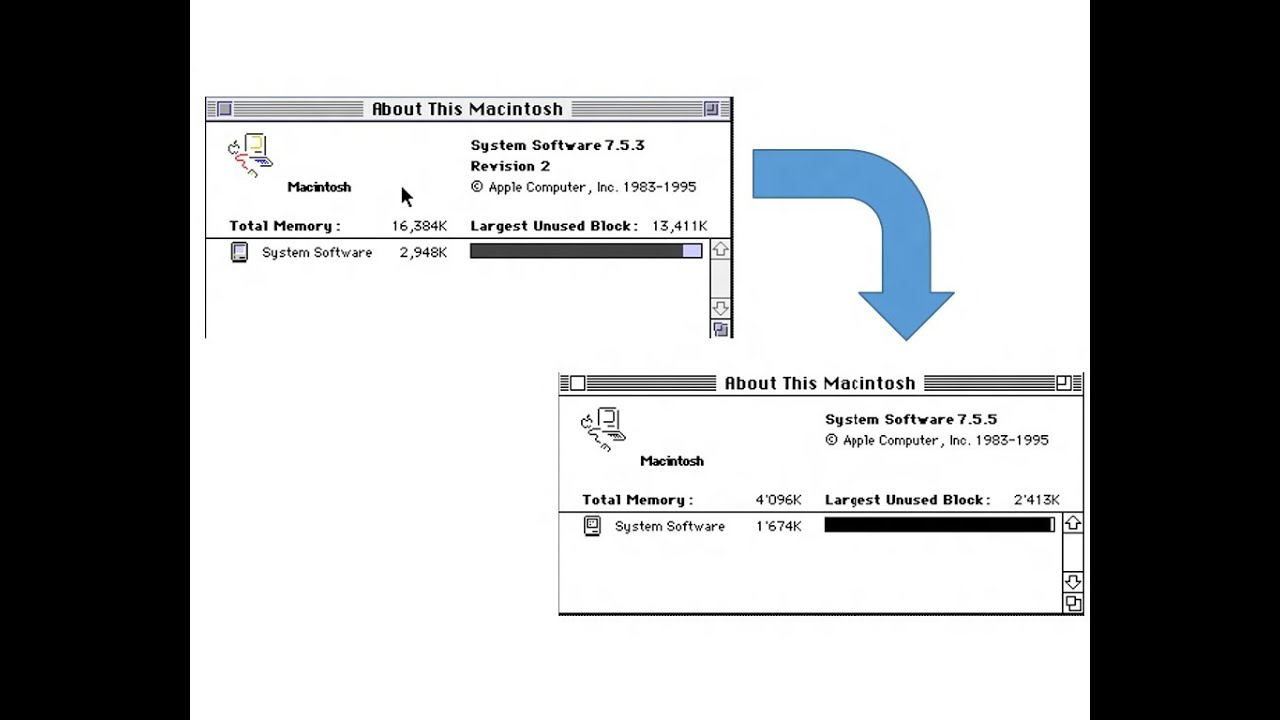 Mac os 7. 5. 3 (system 7. 5 update 2. 0) toast cd image.