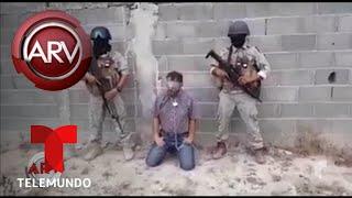 Divulgan video de regidor secuestrado en México | Al Rojo Vivo | Telemundo