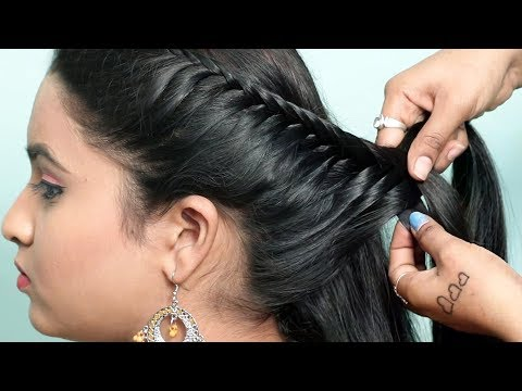 Easy Braided Hairstyles | Step By Step hairstyles For Beginners | hair style girl | Hairstyles 2019