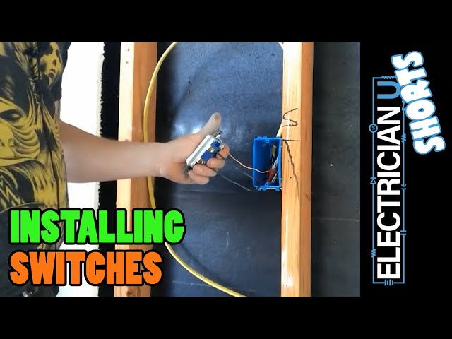 SHORT - How to Install a Switch (in 3 minutes)