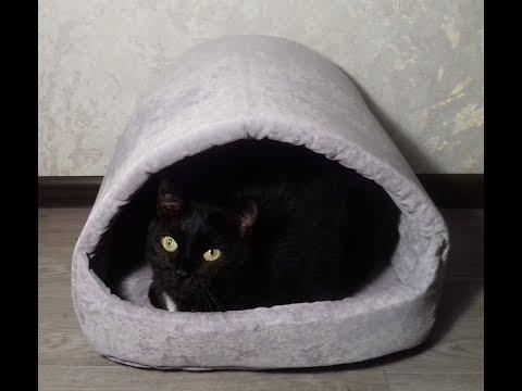 Домик для кошки своими руками из поролона выкройки