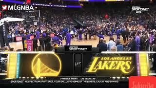 LeBron james (15 pts 10 reb 5 ast Full Highlights vs Warriors 10/10/2018 NBA Dominicana Pretemporada