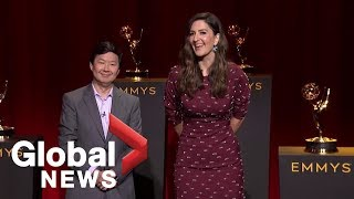 2019 Emmy Awards: Ken Jeong, D'Arcy Carden announce nominations | FULL